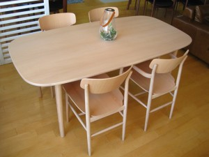 AOYAMA DINING TABLE & CHAIR